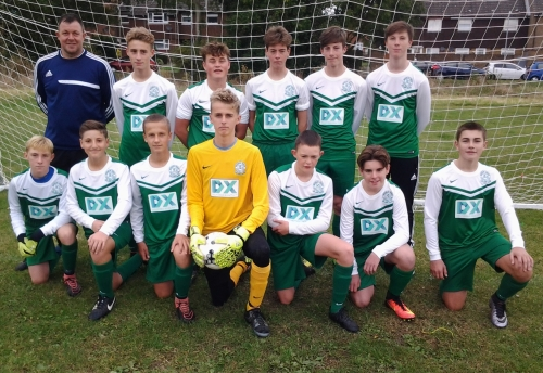 Sponsored by DX, the U15/16s came out on top in the inter-club derby on Saturday