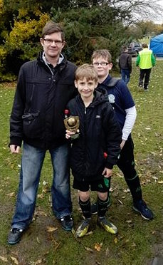 Jake nominated his PoM award to Kieran