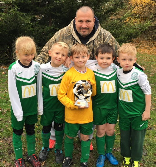 BGFC U8s who put on a brave show