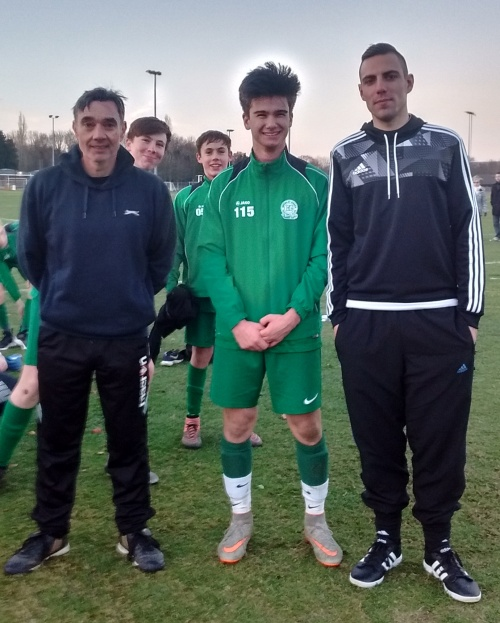 Alex Palade is our Player of the Match away to Kennington. Alex Allan netted for the Green in a 1-1 draw.