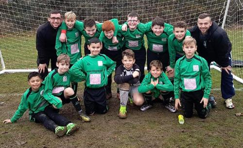 The U12s who drew 3-3 with Marsh Youth via goals by Callum 2 and Elliott