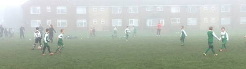Murky at Charing but Sid's boys put on a bright display with a hat trick from Joe Hollamby and one from Clayton