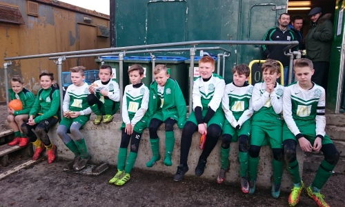 The Green U11s who impressed today