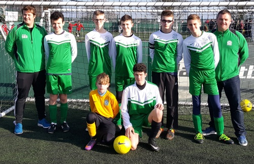 BGV U16s who have booked a place in the next round of the Peoples Cup