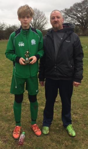 Ilja is our U14s Player of the Match in a thrilling cup tie