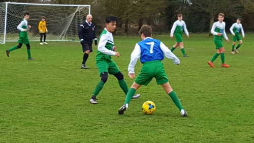 Action from the inter-club cup tie between the Colts and U15/16s ... more photos and reports to follow
