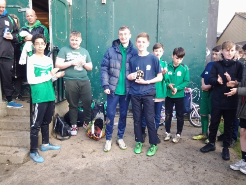 U13s PoM on Saturday was Lennon ... this week the side meets Wye in the cup